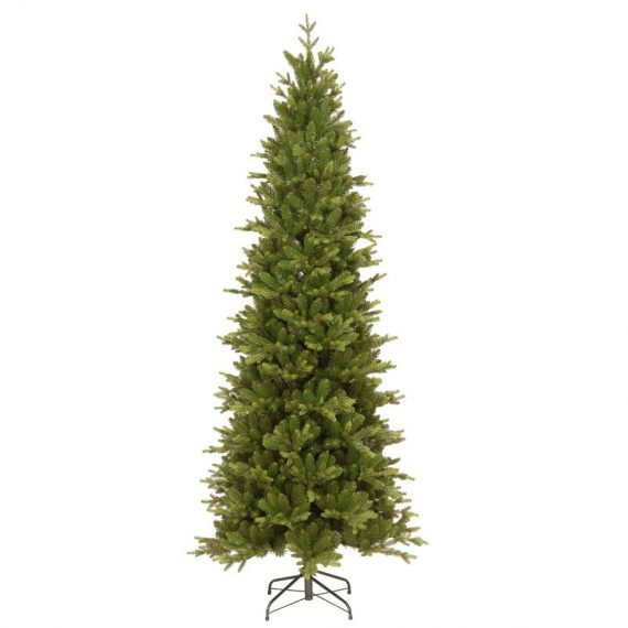 The Carrington Fir Artificial Christmas Tree from National Tree with the Feel Real PE hinged branches.