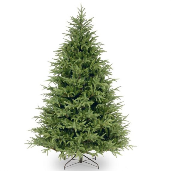Frasier+Grande++Green+Fir+Artificial+Christmas+Tree+with+Stand