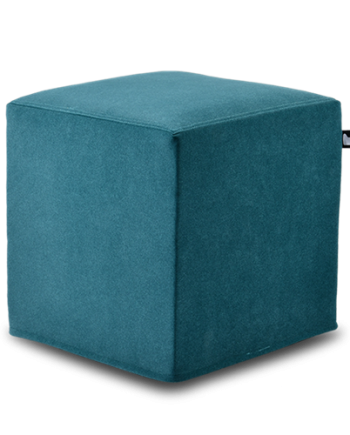 teal-blue suede box