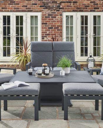 relax lounge grey set
