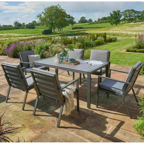 titchwell dining 6 seater set