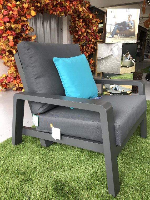 Life Boston Reclining Garden Armchair